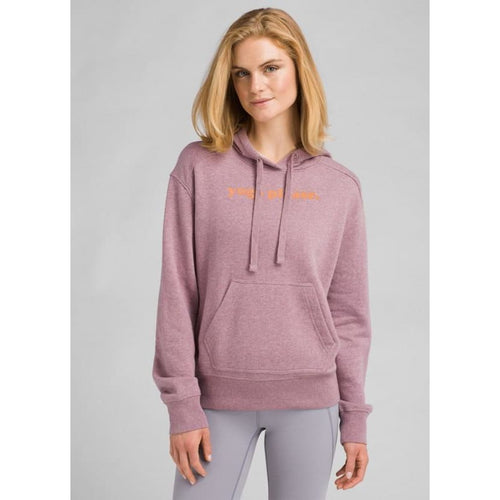 PL Graphic Hoodie - Dark Mauve / X-Small - Clothing