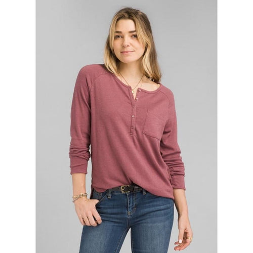 PL Hensley Henley - Brandy / X-Small - Clothing