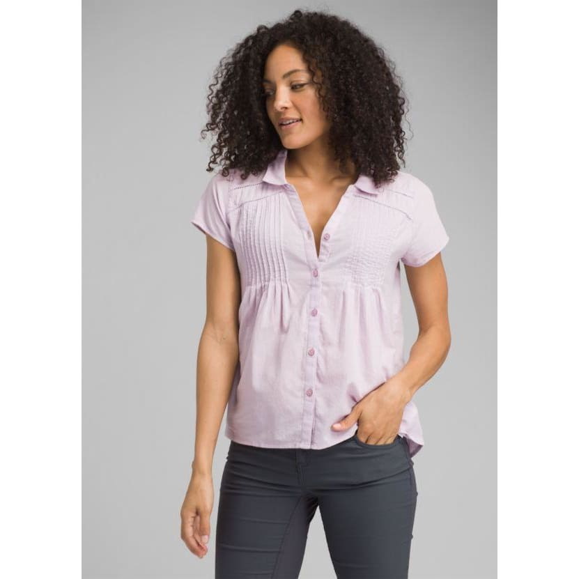 PL Katya Top - Lavender / X-Small - Clothing
