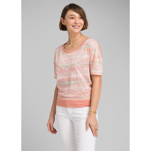 PL Lurie Top - Peach Bonita / Small - Clothing