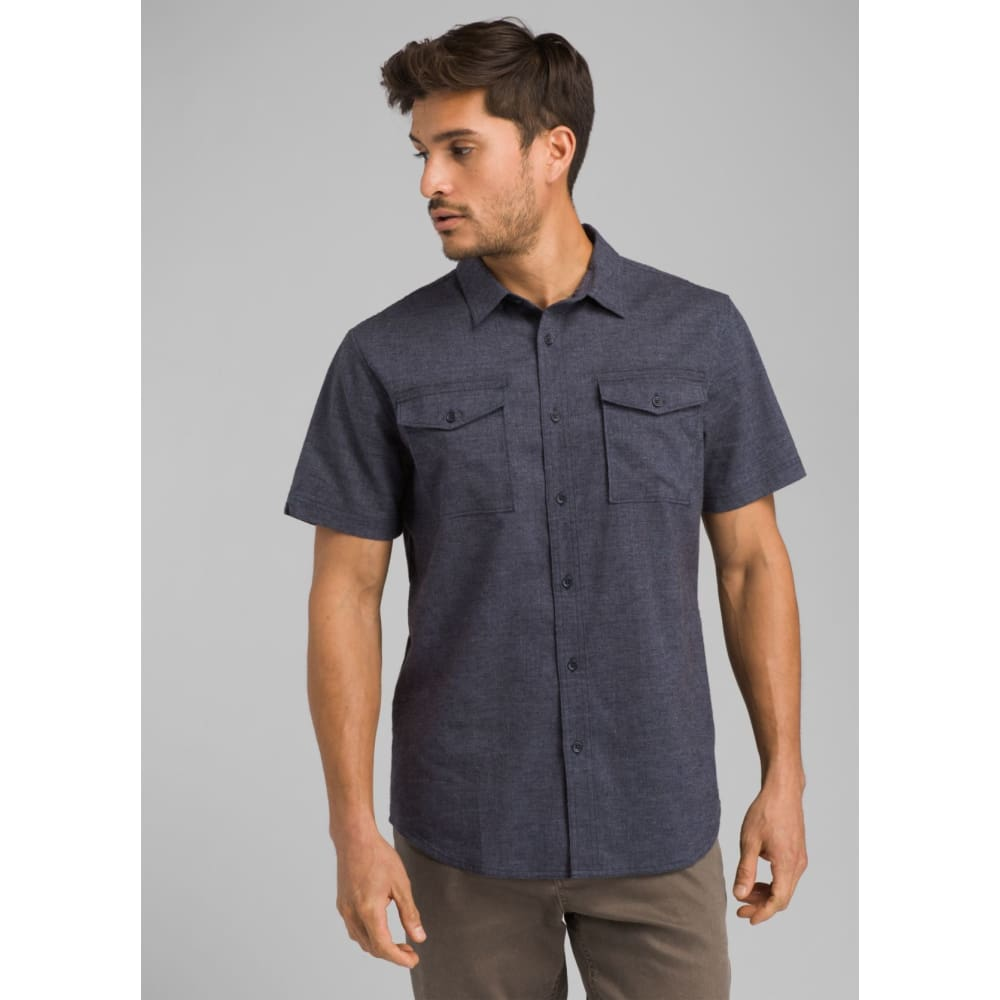 PL Merger SS Shirt Slim - Nautical / Medium - Clothing