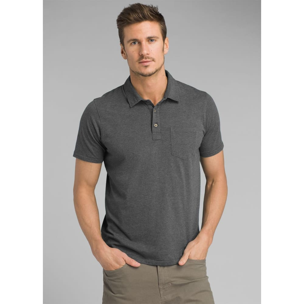 PL Polo - Grey / X-Small - Clothing