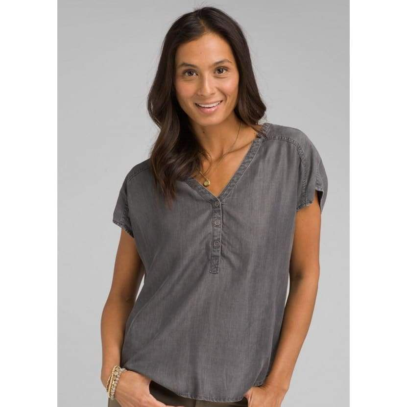PL Starlie Top - Grey Wash / X-Small - Clothing