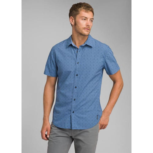 PL Ulu Shirt S/S - Blue / Small - Clothing