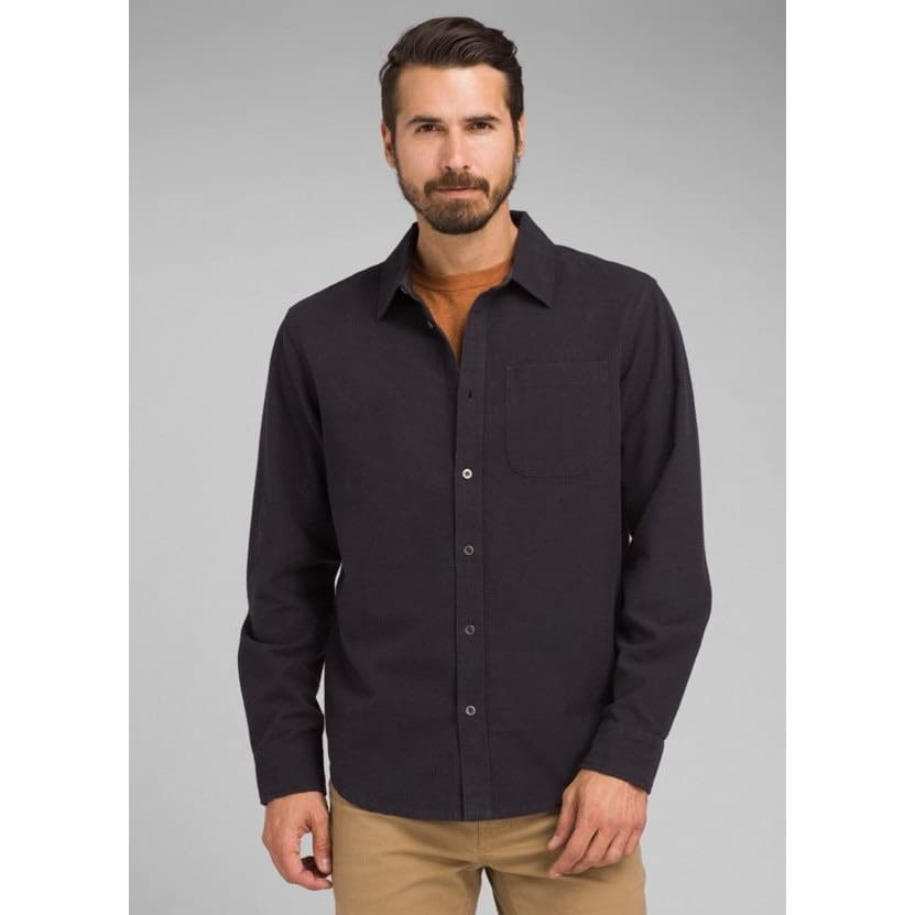PL Woodman Flannel - Charcoal / Medium - Clothing