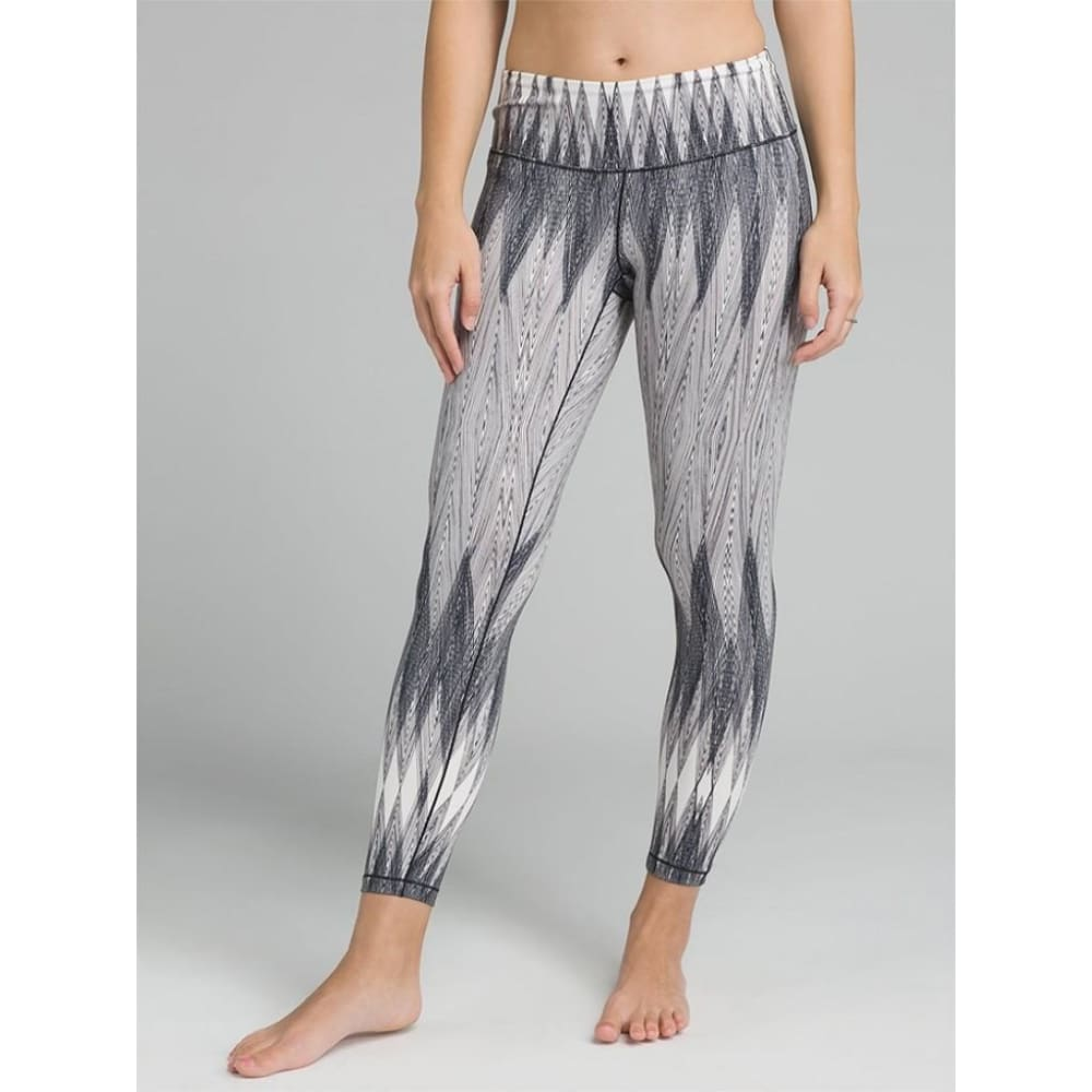 PL Yoga Leggings Pillar Printed - Grey / X-Small - Clothing