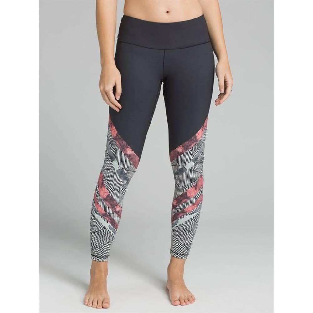 PL Yoga Leggings Pillar Printed - Peach / X-Small - Clothing
