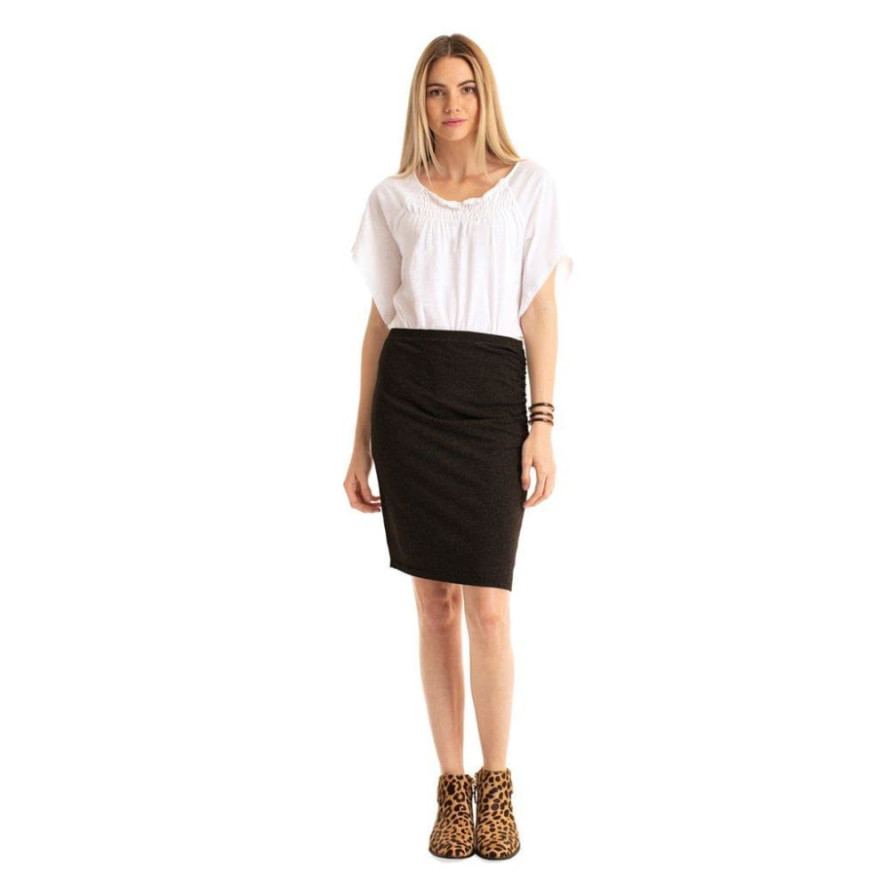 S Dakota Skirt - Black / X-Small - Clothing