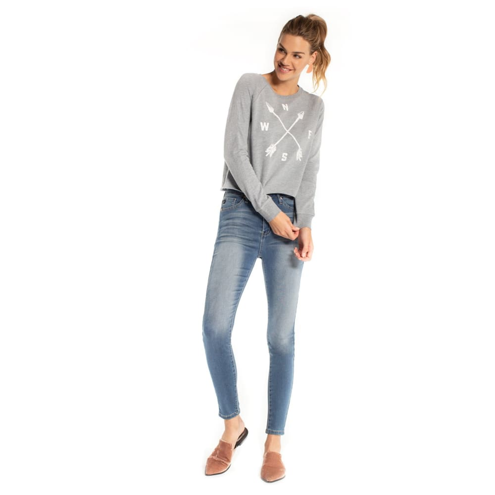 S Four Directions Tiburon Sweatshirt - Grey / X-Small - Clothing