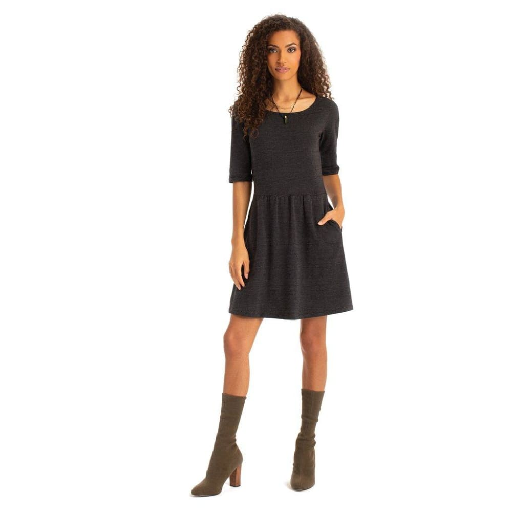 S Gwen Dress - Black / X-Small - Clothing