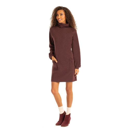 S Phoebe Dress - Mahagony / X-Small - Clothing