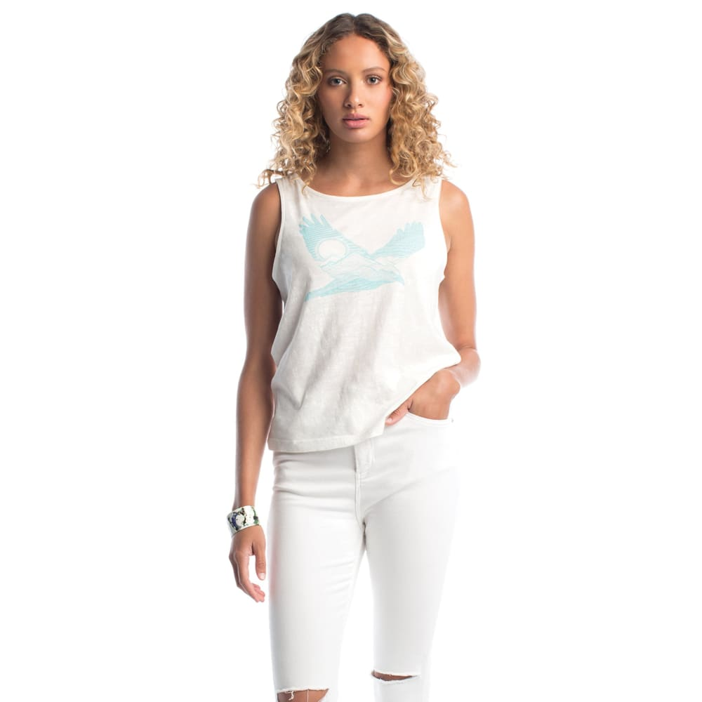 S Tank Bird Spirit - White / X-Small - Clothing