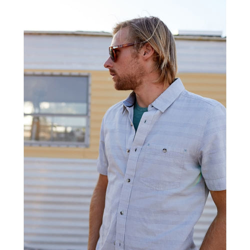 T&C Airlift SS Slim Fit Button Down - Clothing