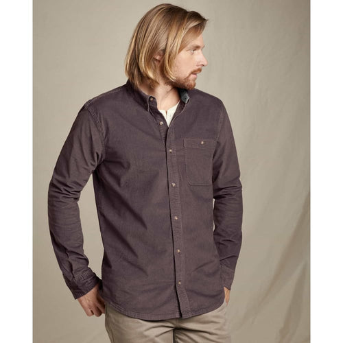 T&C Cord Shirt L/S - Raisin / Small - Clothing