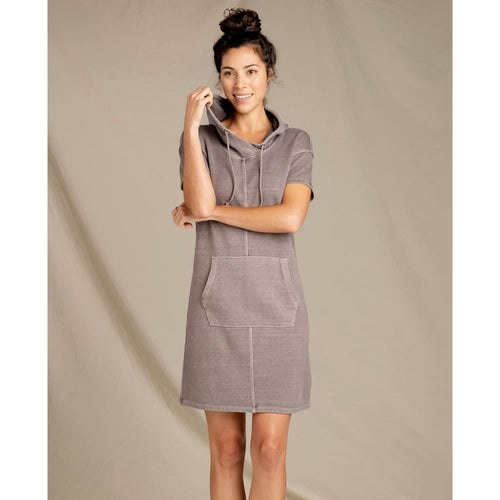 T&C Dress Epique SS - Raisin / X-Small - Clothing