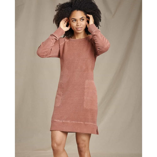 T&C Epique Dress L/S - Paprika / X-Small - Clothing