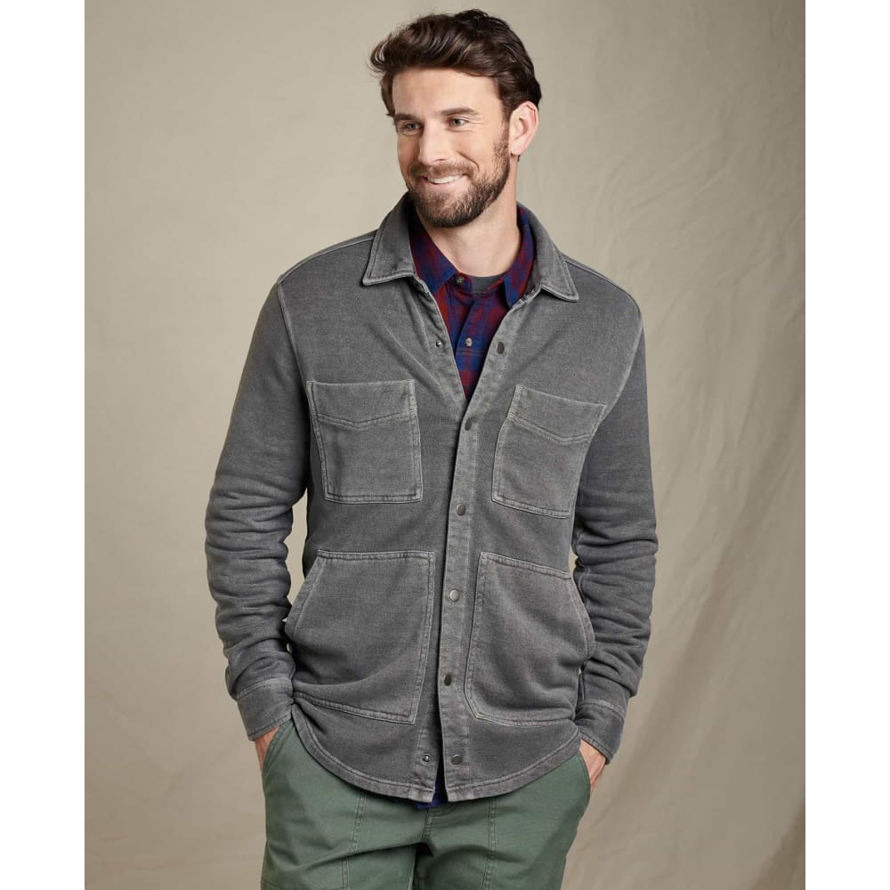 T&C Epique Shirt Jacket - Grey / Small - Clothing