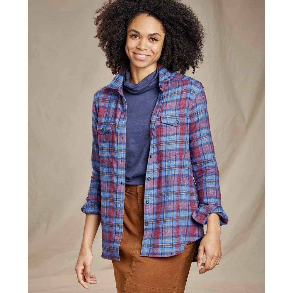TC Flannel Re-Form - Blue Moom / X-Small - Clothing