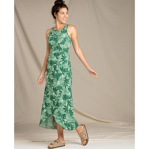 T&C Maxi Dress Sunkissed - Kelp Green / X-Small - Clothing