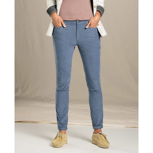 T&C Pant Cord Skinny - Blue / 2 - Clothing