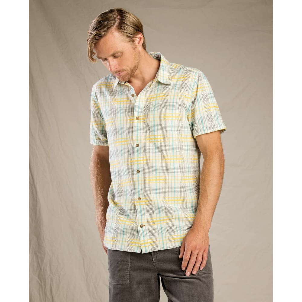 T&C Shirt Airboat SS - Salt / Small - Clothing