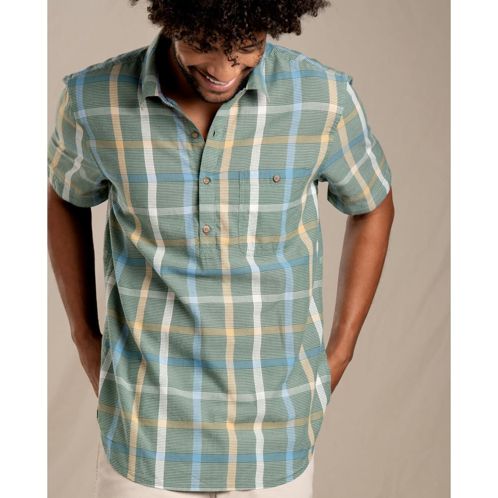 T&C Shirt Cuba Libre SS Half Button - Clothing