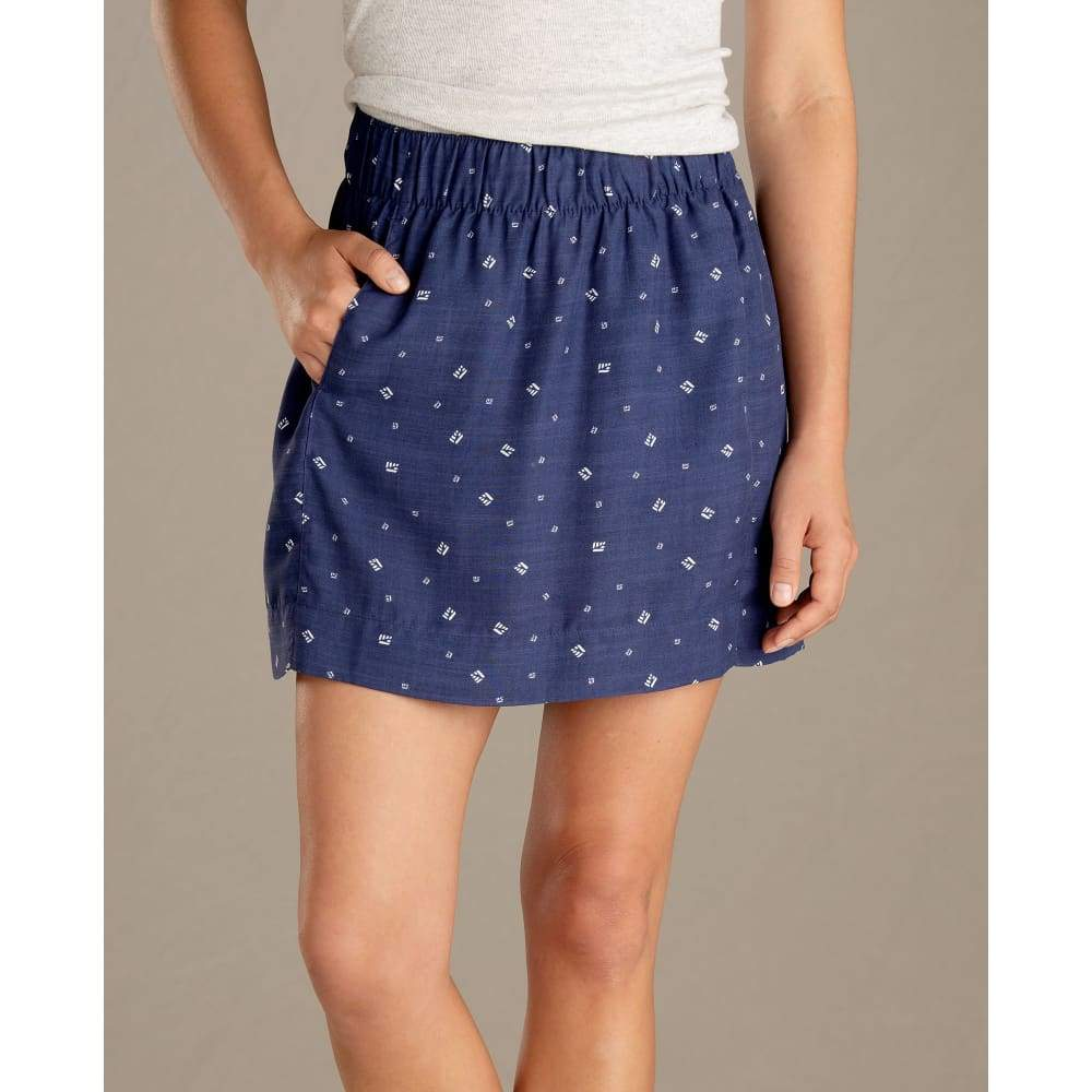T&C Skirt Hillrose - Blue Fern / X-Small - Clothing