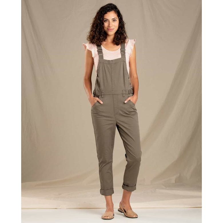 T&C Touchstone Overalls - Brown / X-Small - Clothing
