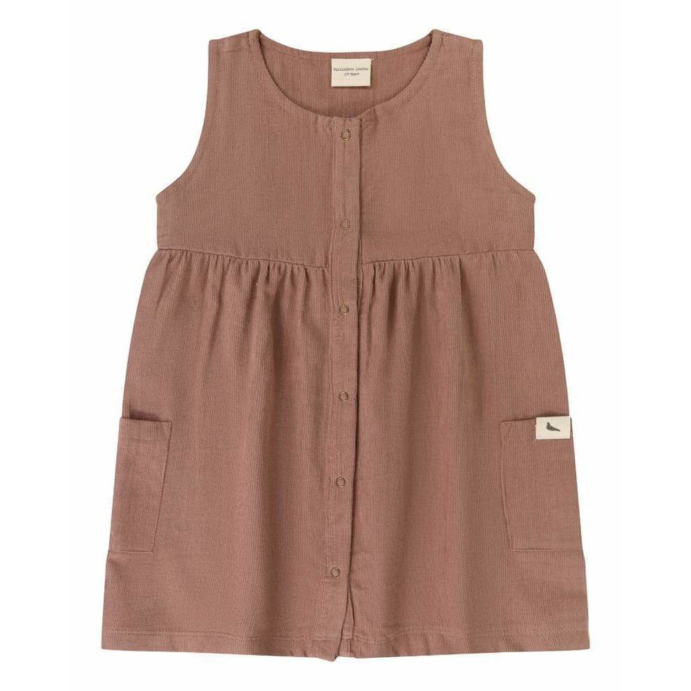 TL Cord Dress - Brown / 1-2 Years - Clothing