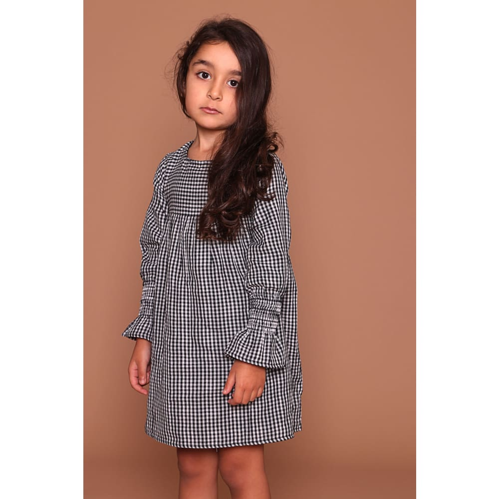 TL Dress Check Reversible - Checkered / 2-3 - Clothing