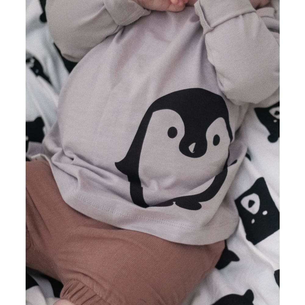TL Penguin Placement Top - Clothing