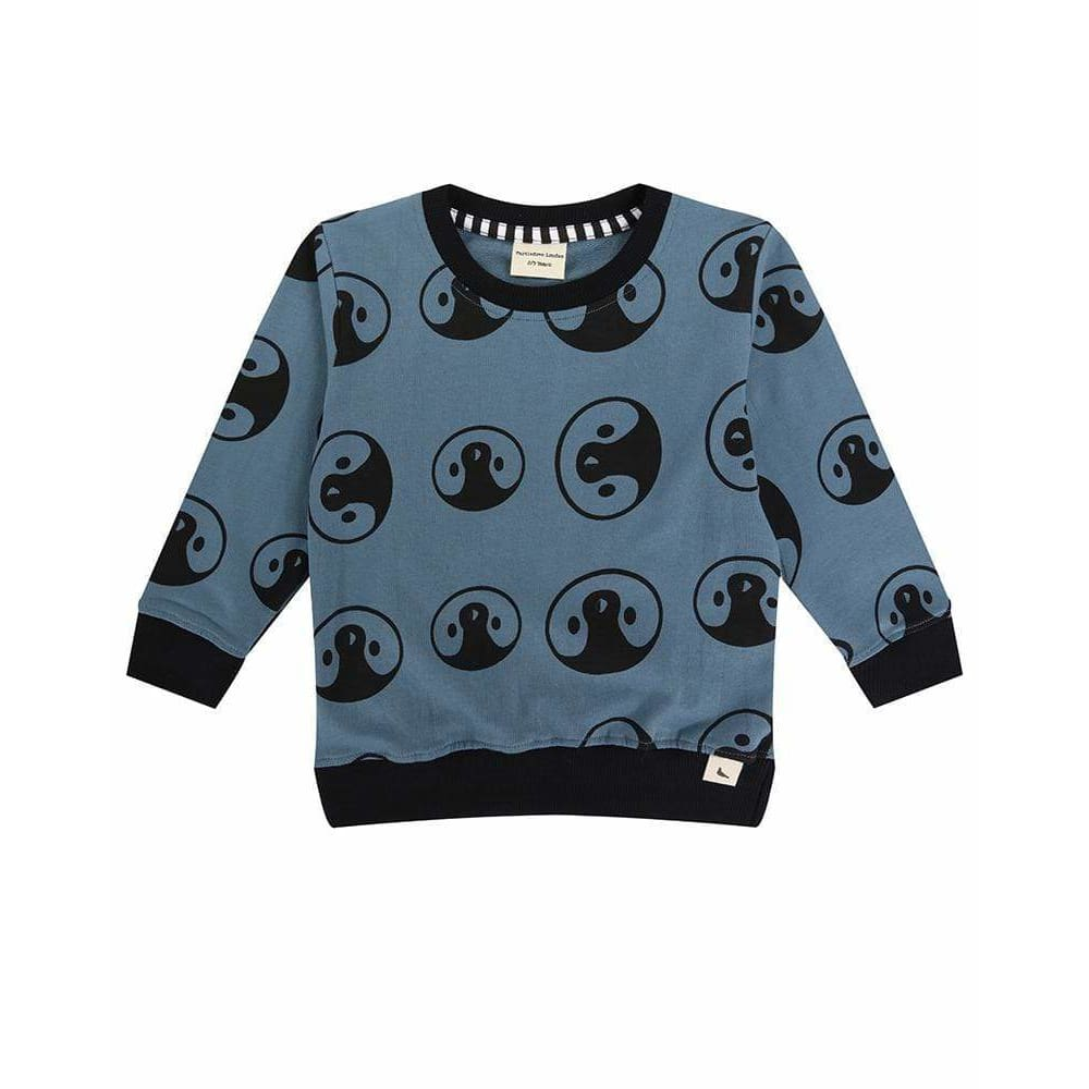 TL Penguin Sweatshirt - Blue / 1-2 Years - Clothing