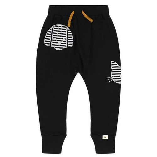 TL Sweatpants Percy and Maurice - 1-2 / Black - Clothing