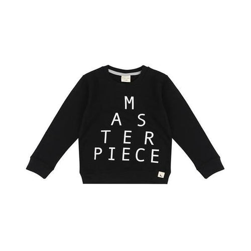 TL Sweatshirt Masterpiece Black - Clothing