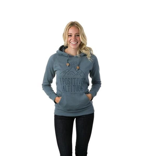 TT Altitude Hoodie Women - Blue / X-Small - Clothing