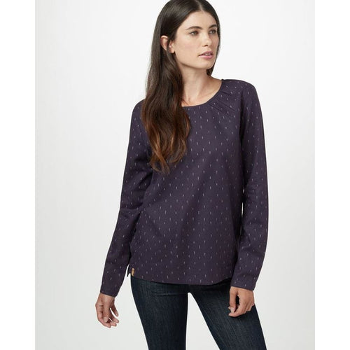TT Balsam Top L/S - Purple / X-Small - Clothing