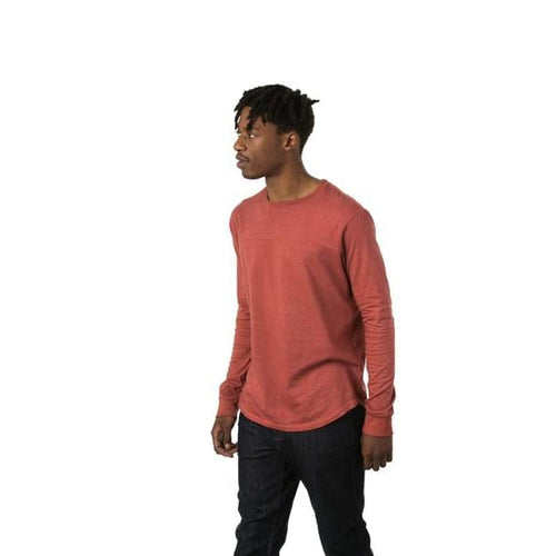 TT Long Sleeve Tee - Red / Small - Clothing