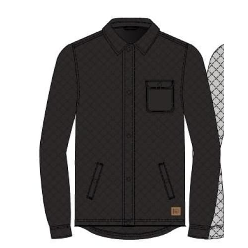 TT Shacket Full Zip Colville M - Meteorite / Small - Clothing