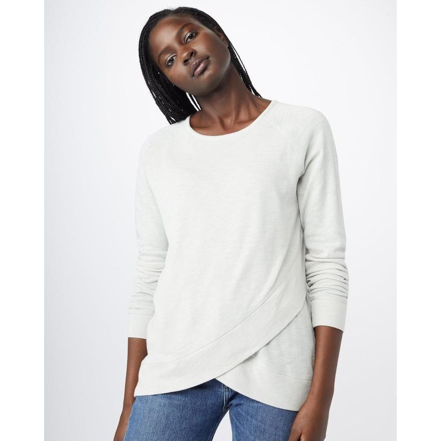 TT Sweater Cross Neck Acre - Grey / X-Small - Clothing