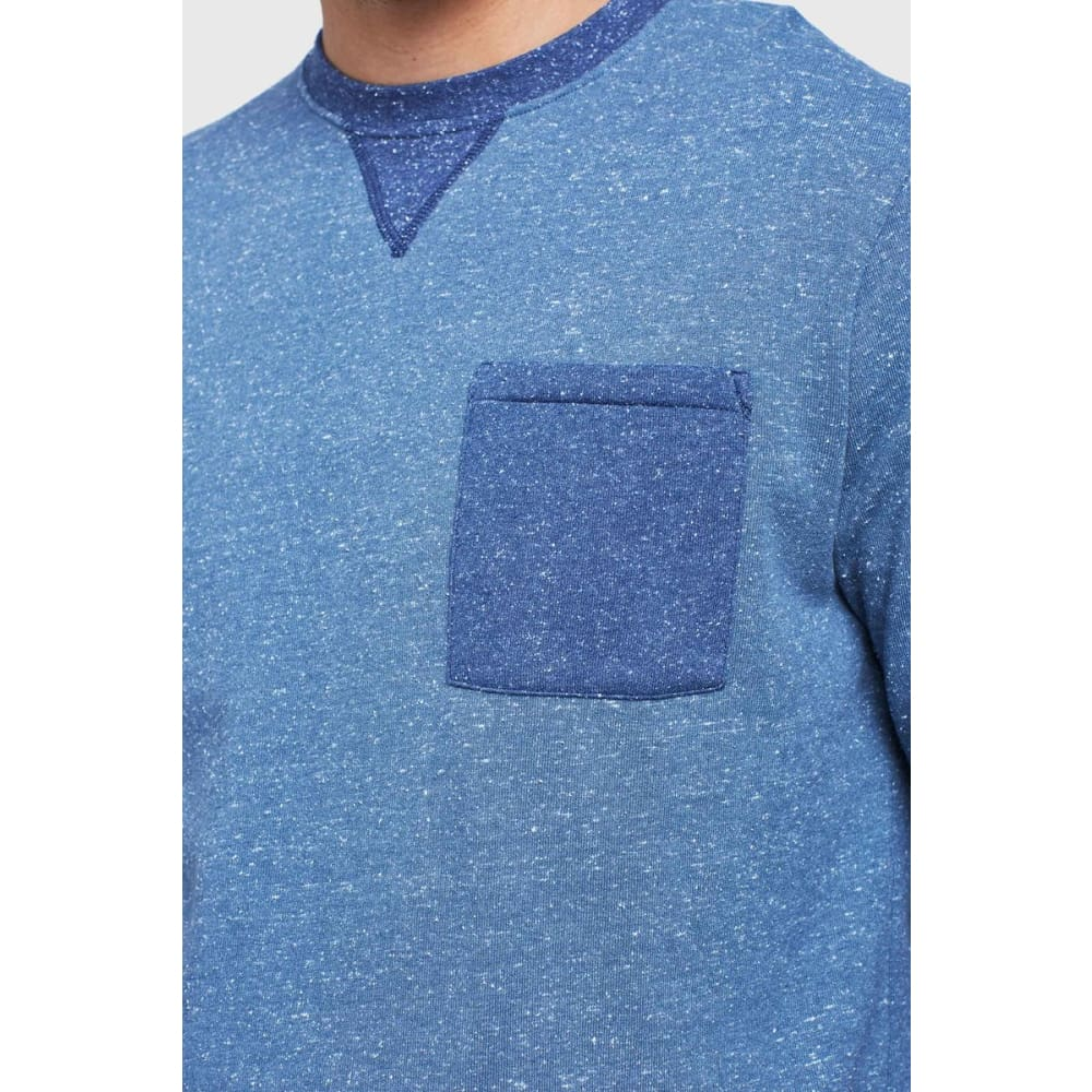UB Colorblock Pocket Crew Sweater - Clothing
