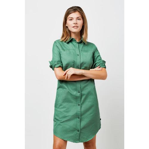 UB Dress Organic Cotton Canvas - Green / X-Small - Clothing