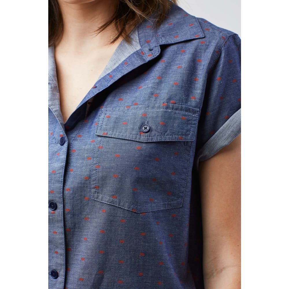 UB Highland Bison Button Down S/S Women - Clothing