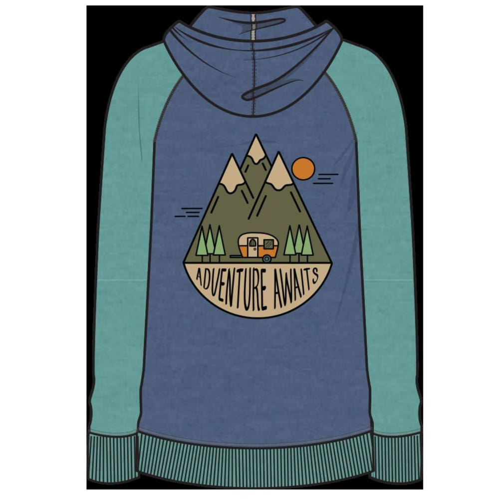 UB Hoodie Adventure Awaits Youth - Clothing