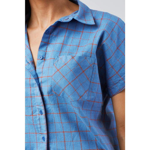 UB Landmark Button Down S/S Women - Clothing