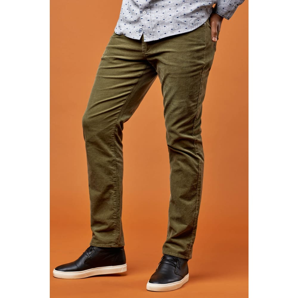 UB Pants Corduroy - Olive / 30 - Clothing