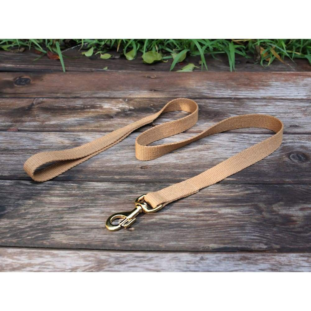 WW Tea Leash Flat Hemp - Dogs