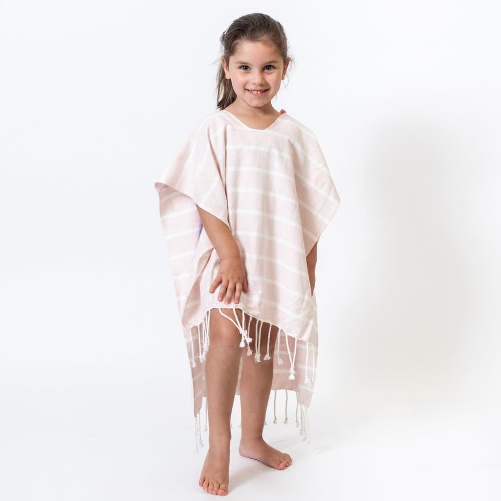 Z Poncho Organic Cotton Kids - Petal / One Size - Clothing