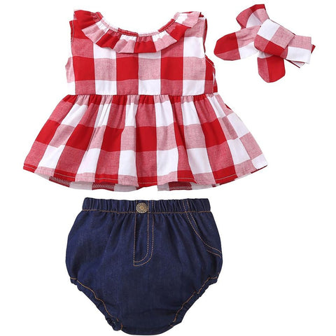Little Cowgirl Country Style 3 Piece Set (3-24M)