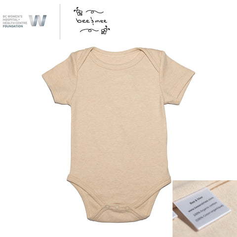 Soft and Gentle Organic Cotton Onesie (0-9M)