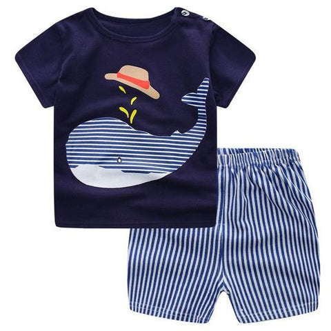 Little Whale 2 Piece Outfit (6-24M)